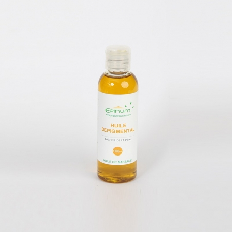 Depigmental oil